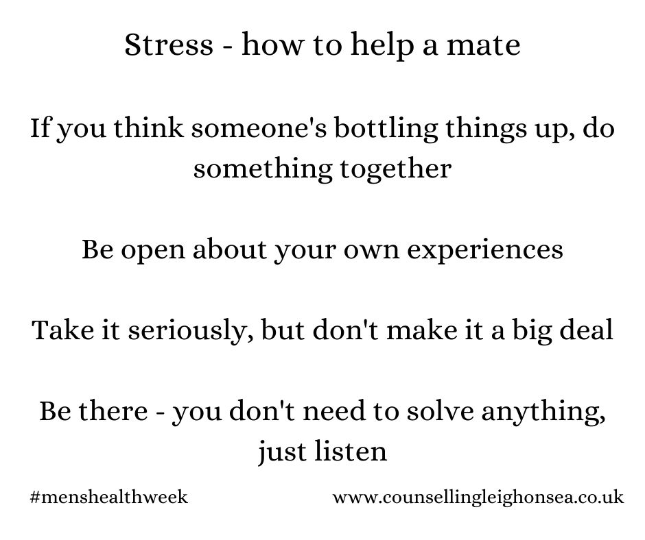Stress How To Help A Mate